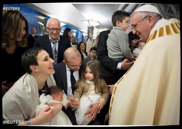 La famille est le «trésor le plus précieux» de l'Europe affirme le Pape devant la FAFCE