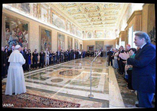 Le Pape reçoit les pasteurs évangéliques participant au Jubilé du Renouveau charismatique