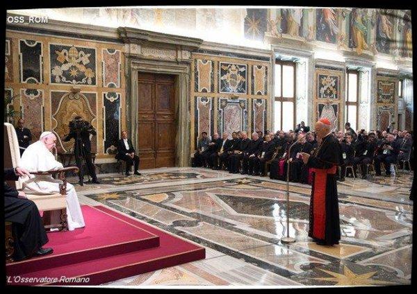 François encourage la réforme des ¼uvres Pontificales Missionnaires