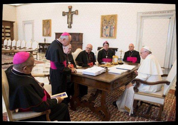 Crise au Venezuela : le Pape François reçoit les responsables de l'épiscopat