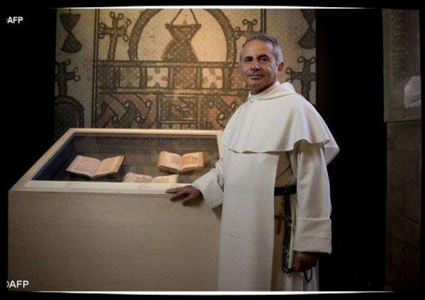Des manuscrits sauvés des mains de Daesh, exposés à Rome