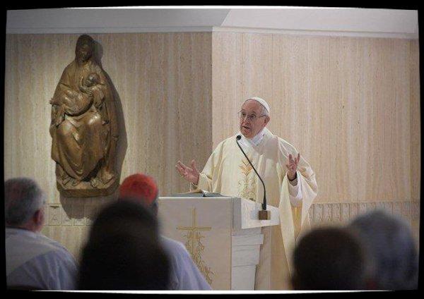 Pape François: la consolation nécessite un coeur ouvert à l'altérité