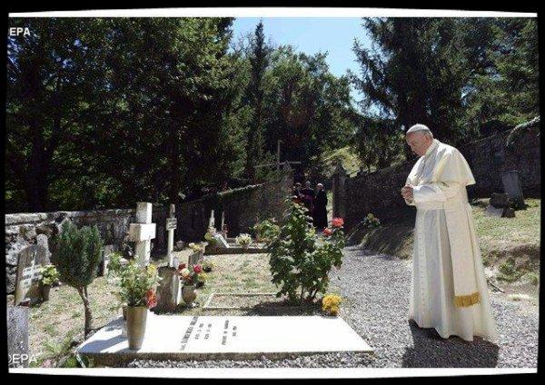 Le Pape François rend hommage à Don Milani, un éducateur qui rendait leur dignité aux pauvres