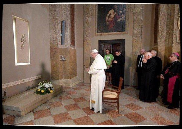 Le Pape salue Don Mazzolari, qui voulait une Église pauvre pour et avec les pauvres