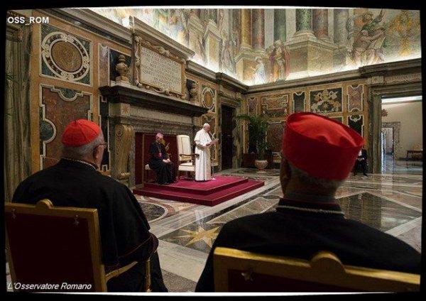 Discours du Pape à la ROACO : les chrétiens orientaux doivent être des «temples vivants» du Seigneur