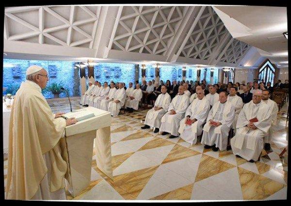 Sainte-Marthe : le Pape appelle à rester ouvert aux surprises de Dieu