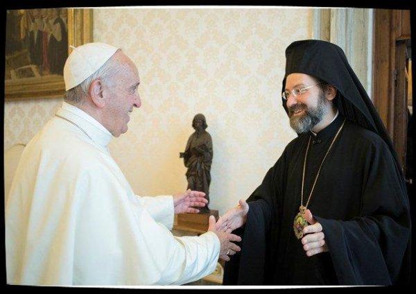 Le Pape accueille la délégation du patriarcat de Constantinople