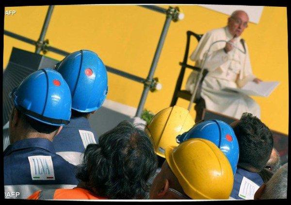 Message du Pape au Mouvement des travailleurs chrétiens
