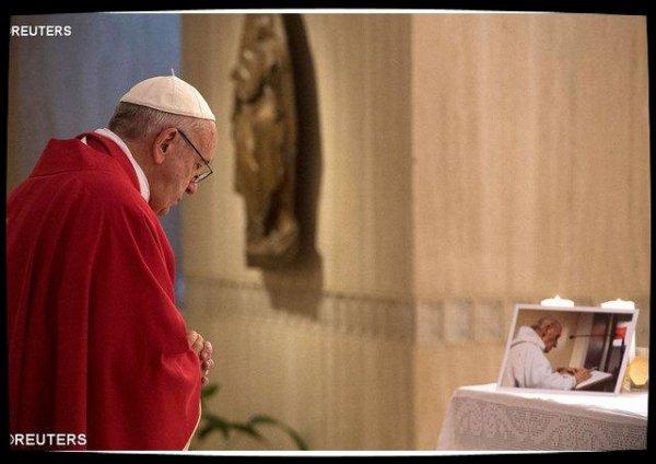 Sur Instagram, le Pape François rend hommage au P.Jacques Hamel