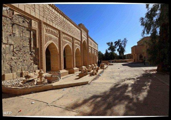 """L'association """"Fraternité en Irak"""" ½uvre à la reconstruction du monastère de Mar Behnam"""