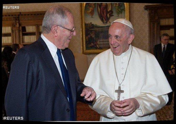 Le Pape François a reçu le président du Pérou