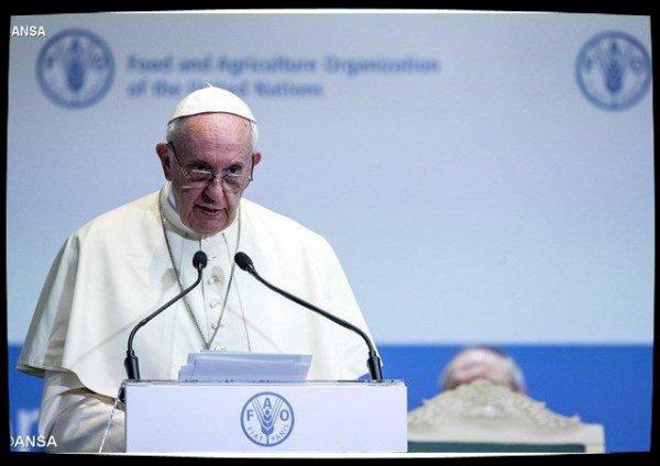 Le Pape à la FAO: conflits et changements climatiques, obstacles à la lutte contre la faim