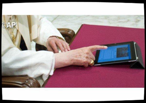 Le compte Twitter du Pape dépasse les 40 millions d'abonnés