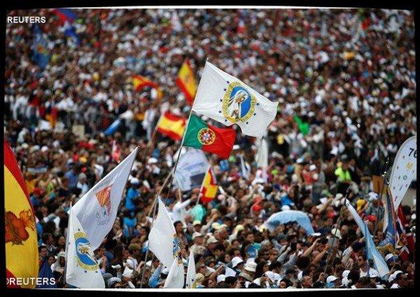 Douze millions et demi de catholiques en plus dans le monde