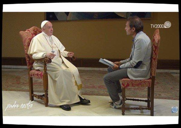 Le Pape se confie à la télévision catholique italienneTV 2000