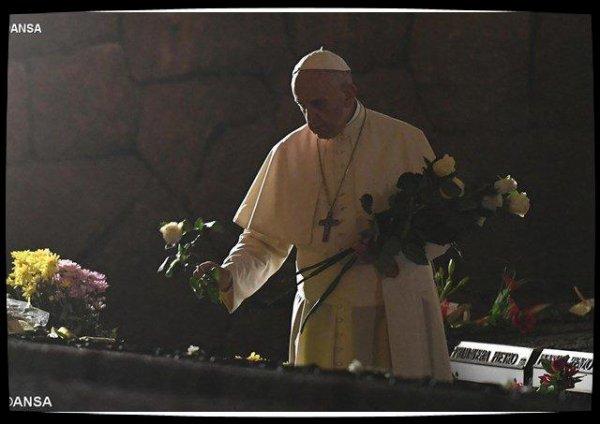 «Seigneur, tu connais leurs visages» : la prière du Pape aux Fosses ardéatines