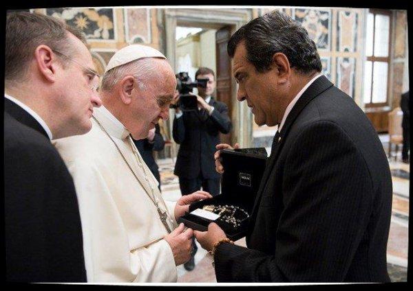Le Pape reçoit les leaders des territoires d'Océanie affectés par le réchauffement climatique