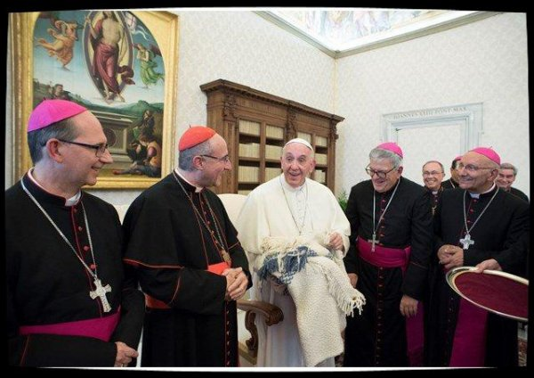 L'échange fraternel entre le Pape et les évêques d'Uruguay