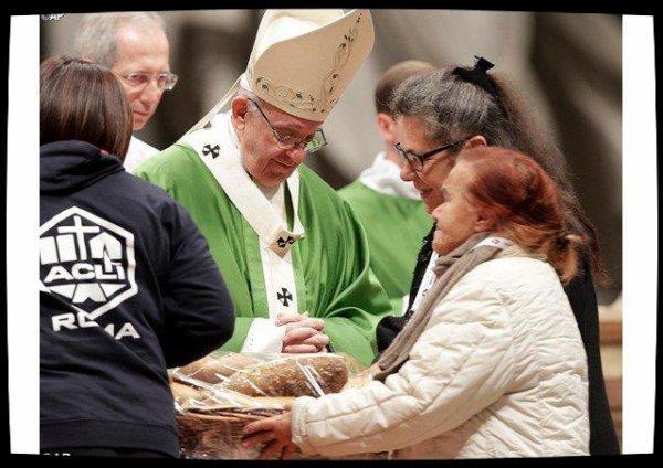Pape François: les pauvres, «passeports du paradis»