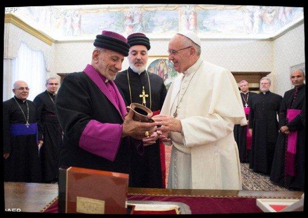 Le Pape salue le rapprochement des Églises catholique et assyrienne