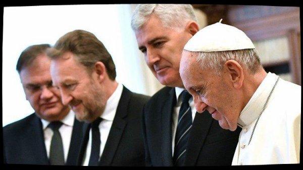 Le Pape reçoit la présidence collégiale de Bosnie-et-Herzégovine