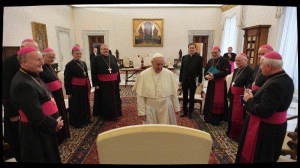 Visite ad limina: les évêques slovènes préoccupé par la sécularisation