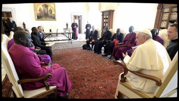 Le Pape reçoit le Conseil des Églises chrétiennes du Soudan du Sud