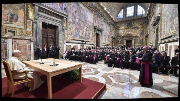Le Pape encourage le ministère des missionnaires de la miséricorde