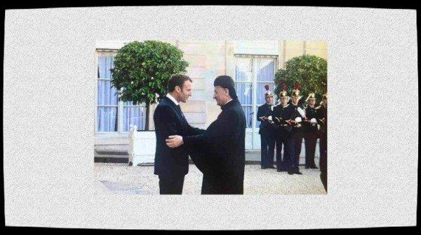 Le cardinal Rai en visite en France