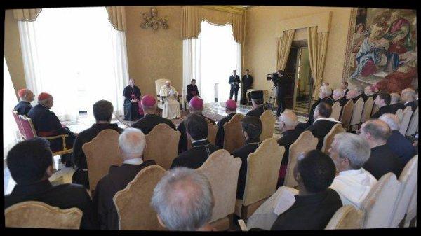 Devant la ROACO, le Pape s'inquiète de la situation au Moyen-Orient