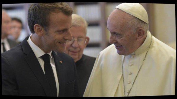 Emmanuel Macron reçu en audience par le Pape François