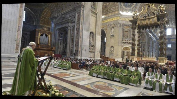 Messe du Pape pour les migrants: «La seule réponse est la solidarité»