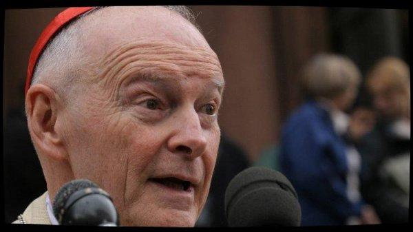 Mgr McCarrick démissionne du collège cardinalice
