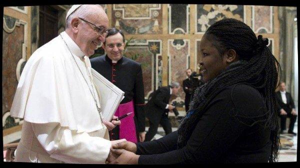 La lutte contre la traite humaine, un combat du Pape François
