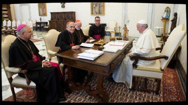Un «échange fructueux» entre le Pape et l'épiscopat américain