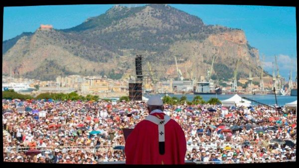 Homélie du Pape à Palerme : «On ne peut pas croire en Dieu et être mafieux»