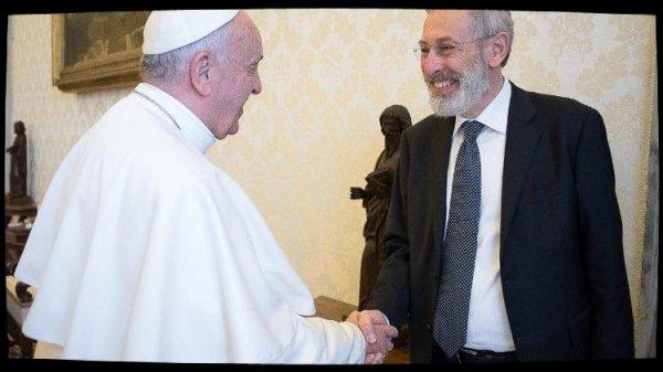 Le Pape adresse ses v½ux à la communauté juive