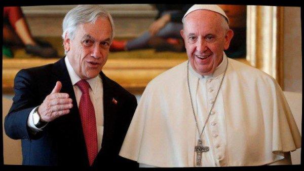 le Pape a reçu le président chilien en audience
