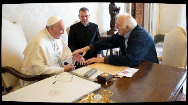 Le Pape salue la mémoire de Jean Vanier