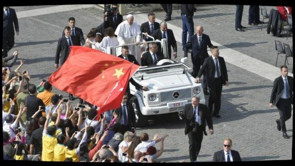 Le Pape François exprime sa proximité avec les catholiques de Chine