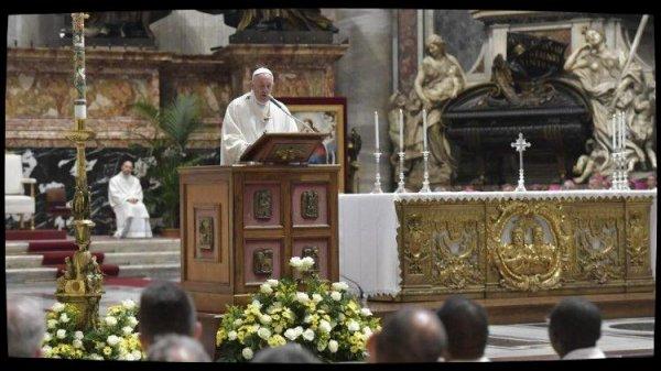 Messe du Pape pour la Caritas: la conversion du c½ur passe par le renoncement