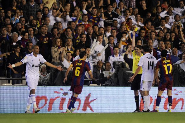 Photo FINAL DE LA COUPE DU ROI ( 20 Avril 2011) Real Madrid 1 - FC Barcelone 0