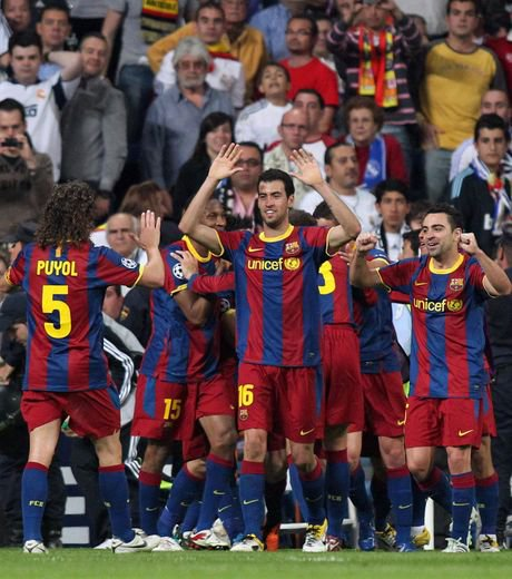 Photo  Match Ligue des champion 28/04/2011 Real Madrid 0- Fc Barcelone 1