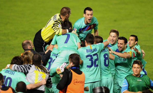 Photo match Levante-FC Barcelone ( 1-1) : 11 Mai