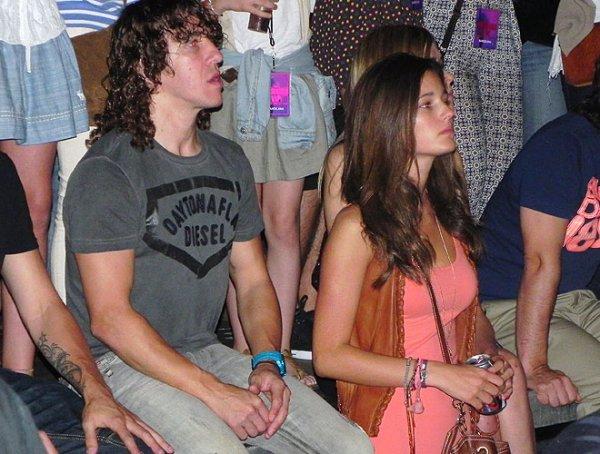 Les joueurs en couple pour le concert de shakira ( 29 Mai 2011)