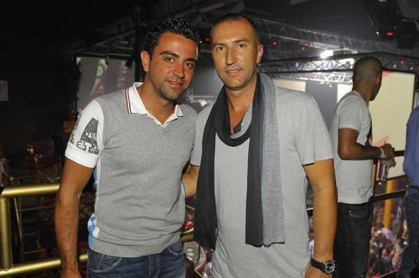 Xavi a Ibiza 2011