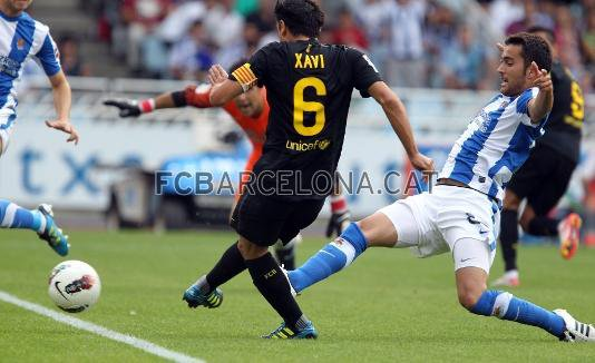 Photo match Real Sociedad 2 - FC Barcelone 2  ( 10 Juillet 2011)