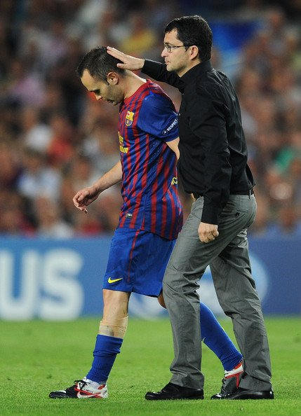 FC Barcelone: Andrés Iniesta indisponible un mois