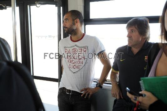 Arrivé des joueurs a Valence 21 septembre 2011