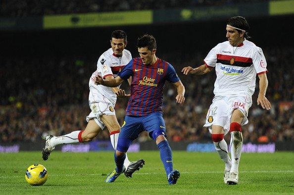Photo Match FC Barcelone-Mallorca